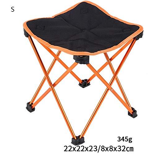 Easty Lawn Stool Outdoor Freizeit Sitzer Klapp Angeln/Camping Stuhl mit Klapp Camping Stuhl Leichte tragbare Festival Angeln Outdoor Travel Sitz U-Bahn Hocker Leicht zu tragen (Color : E)