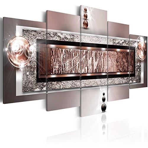 B&D XXL murando - Moderno Quadro su Acrilico Vetro 200x100 cm - 5 Parti - Quadro – Stampa in qualita Fotografica a-C-0032-k-n