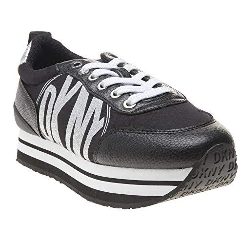 Dkny Panya Mujer Zapatillas Negro 37 Eu