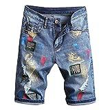 JURTEE Pantalones Cortos...