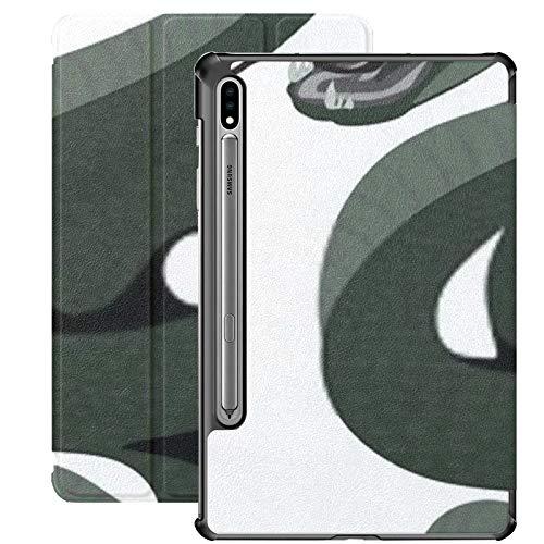 Estuche Galaxy Tab S7 Estuche Delgado y liviano con Soporte para Tableta Samsung Galaxy Tab S7 de 11 Pulgadas Sm-t870 Sm-t875 Sm-t878 2020 Release, Anaconda Big Snacke Arte Vectorial