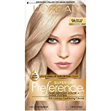 L'Oral Paris Superior Preference Fade-Defying + Shine Permanent Hair Color, 9A Light Ash Blonde, 1 kit Hair Dye