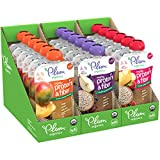 Plum Organics Mighty Protein & Fiber Stage 4 Organic Toddler Pouches, Variety Pack, 4 Oz Pouch, 18Count