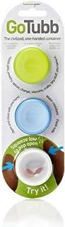 humangear GoTubb 3 Pack Small Clear/Green/Blue