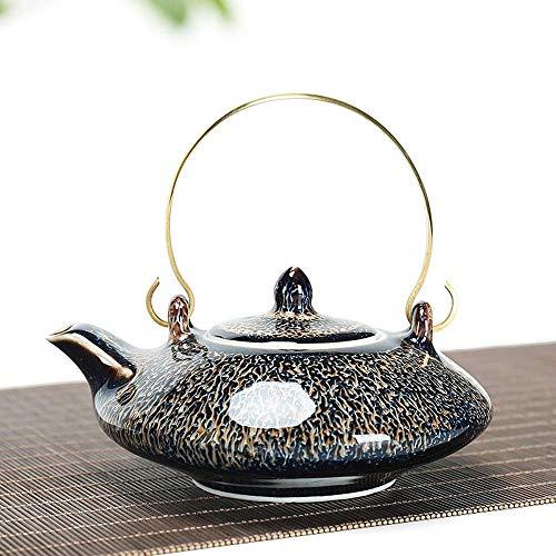MSH keramische theepot met thee-drenkmachine, Loose Leaf Tea Soaking