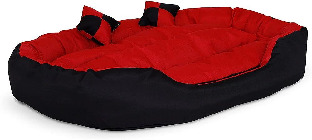 Dibea, letto per cani in tessuto oxford, antigraffio e idrorepellente, per interno e esterno, 110x80 cm, DB00412