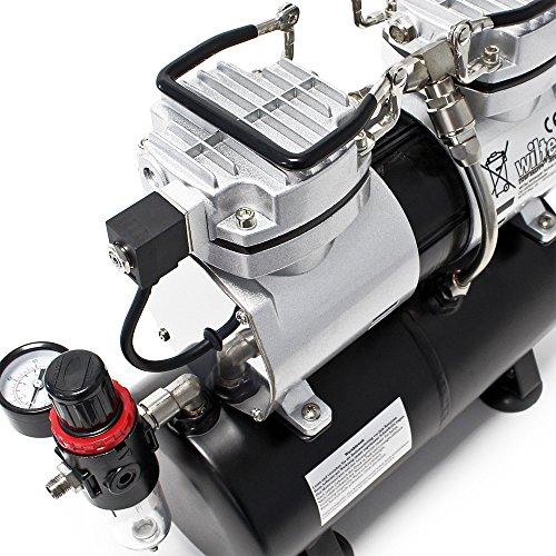 Airbrush Kompressor Wiltec AS196 - 4