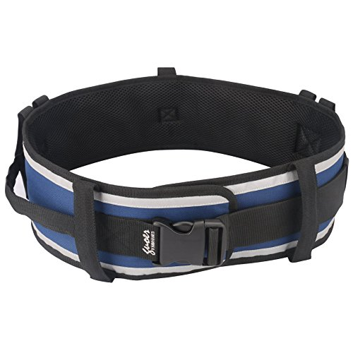 GUOER Transfer Belt Gait Belts Onesize (Blue)