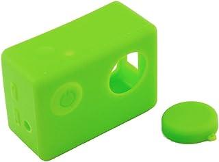 Capa Case Protetora Silicone Para Câmeras SJCam SJ5000 Cor Verde