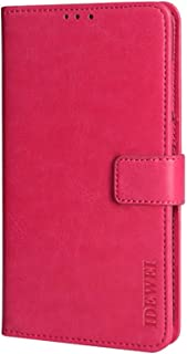 CASE BOX Faux Leather Flip Wallet with Card Slot Case for Xiaomi Poco M2 Pro(Pink)