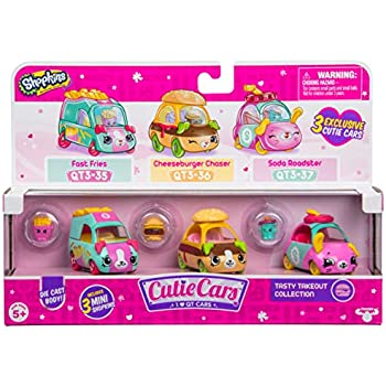 Shopkins S3 3 Pack - Tasty Takeout | Shopkin.Toys - Image 1