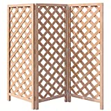 アイガーデン 格子ラティス 折り畳み式ラティス i10088 人工木製 ナチュラル 3連1660サイズ1セット