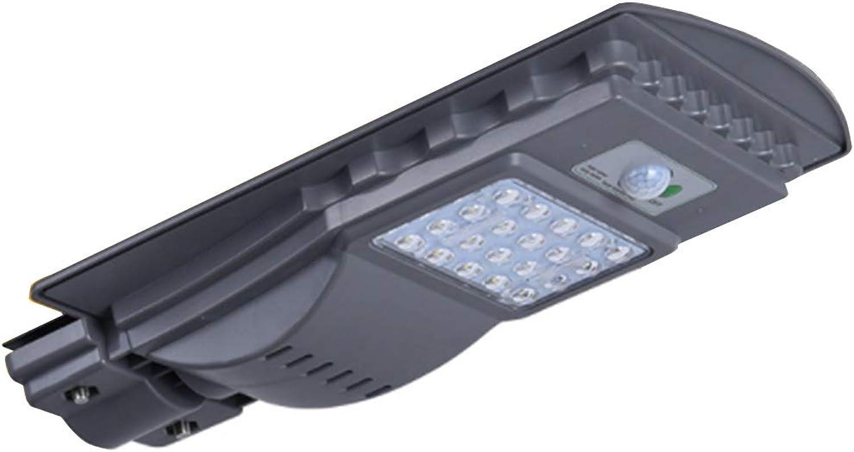 JINHONGH Solarlichter im Freien, Sensor-Licht, 20 LEDs IP65 imprgniern, Einfach-installieren Sie Sicherheitslichter für Patio, Plattform, Yard, Garten (Farbe   schwarz)
