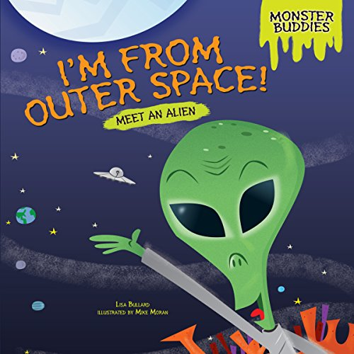 I'm from Outer Space! copertina