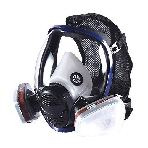 Organic Vapor Full Face Respirator Reusable Full Face Cover For Paint, Chemicals, Polish