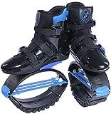Wxnnx Ragazzi Ragazzi Ragazze Salta Scarpe Scarpe da Rimbalzo, Stivali da Corsa antigravità, Scarpe da Salto Fitness Unisex Scarpe da Rimbalzo,B,33~35