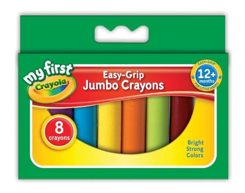 CRAYOLA My First CRAYOLA Jumbo Crayons (8 Pieces) Multicoloured