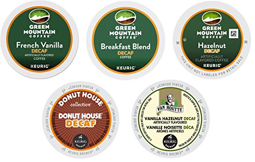 30-count All DECAF K-cup Variety Sampler Pack (5 Flavors, 6 K-Cups Each)