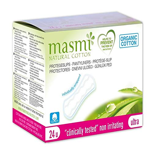 MASMI NATURAL COTTON Bio Slipeinlagen Ultra