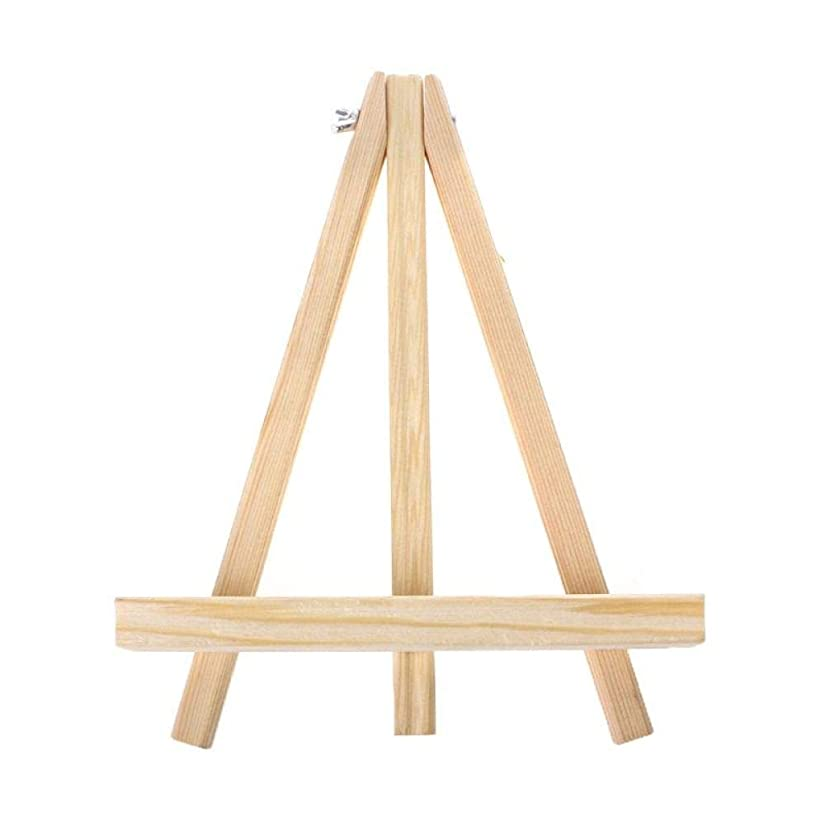 いっぱい過激派失態WANGSENO 18×24センチアーティスト木製イーゼル結婚式のテーブルカードホルダーディスプレイホルダー用パーティーの装飾
