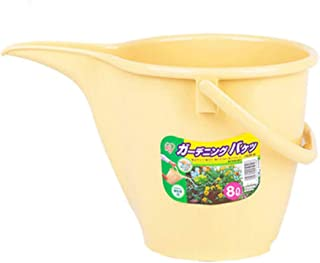 Fashion Watering Kettle Household Scale Bucket Thickened Gardening Vegetable Supplies Fertilizing Plastic Watering Bucket with Scale (Color : Yellow)