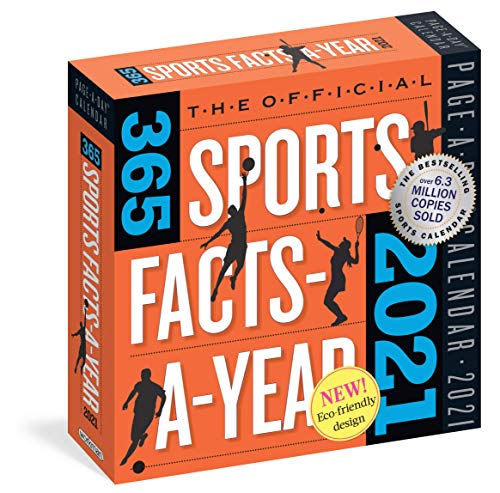 The Official 365 Sports Facts-A-Year Page-A-Day Calendar 2021 [6