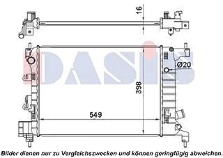 AKS Dasis 140036N Radiator engine cooling