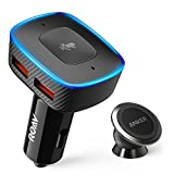 Roav VIVA with Car Mount, by Anker, Alexa-Enabled 2-Port USB Car Charger for In-Car Navigation,…