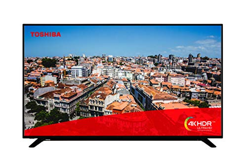 Toshiba 65U2963DB 43-Inch Smart 4K Ultra-HD LED TV with Freeview Play (2019 Model)