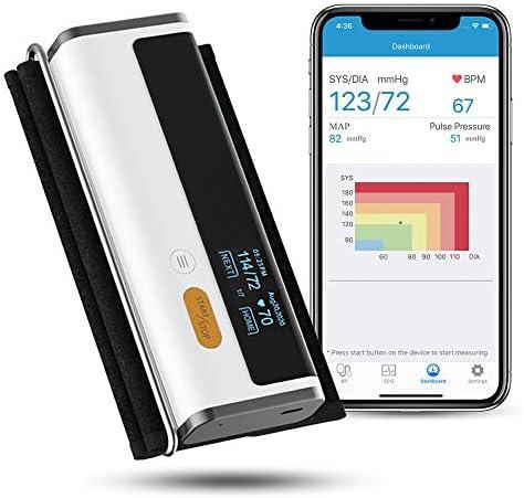 Wellue Armfit Plus Blood Pressure Monitor EKG Upper Arm Cuff BP Machine EKG Monitor Normal Heart product image