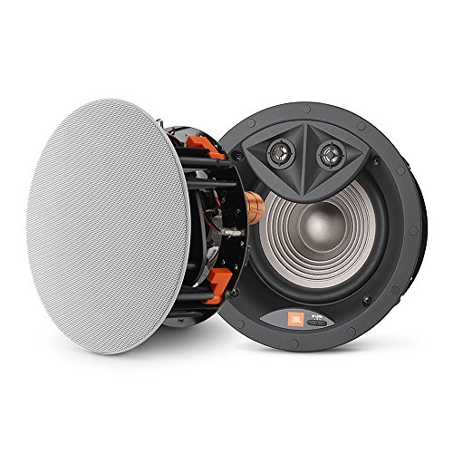 "Leviton LAE6D Architectural Edition Powered by JBL 6.5"" in-Ceiling Speaker with Dual Stereo Tweeters"