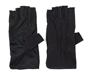 Best black cotton fingerless gloves Reviews