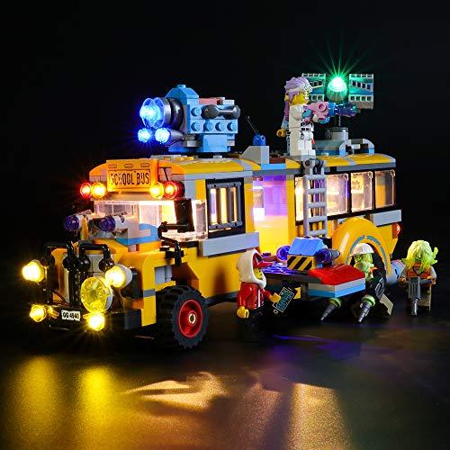 LIGHTAILING Conjunto de Luces (Hidden Side Autobús de Inter