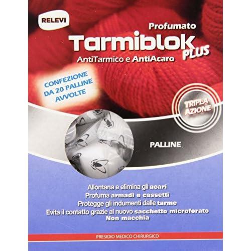 Tarmiblok Antitarmico e Antiacaro Profumato, 20 Palline
