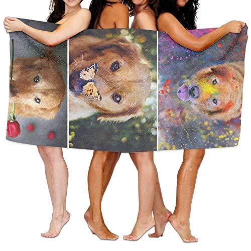 Gebrb Duschtücher/Badetücher,Strandtücher, Bath Towel Doberman Pinscher Soft Big Beach Towel 31