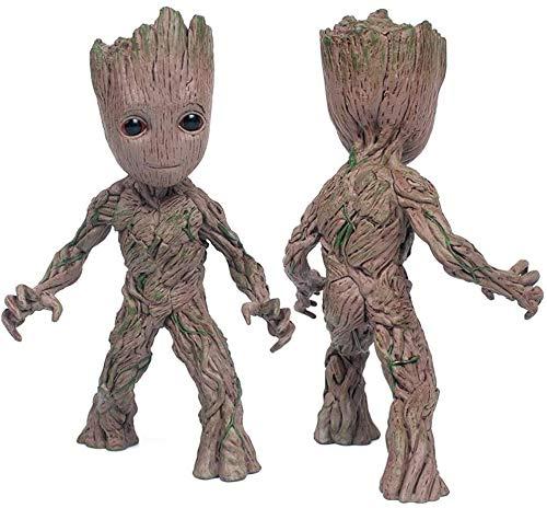TQGG Figuras de acción de Anime Modèle, Baby Groot Cute Model Toy Guardianes de la Galaxia para niños
