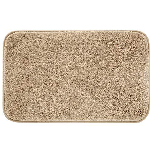 Alfombras de Bañoalfombra de Ducha,antideslizante Espesar Alfombra de Baño de Microfibra Esponjosa,suavecómodosúperlujosa Alfombra,lavable a Máquina,paraelhogar, Dormitorio, Baño.