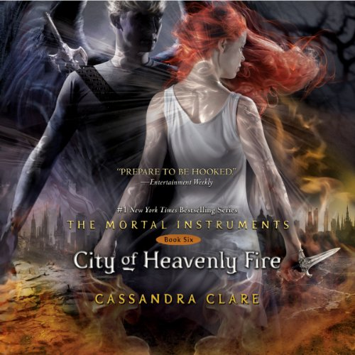 City of Heavenly Fire audiobook cover art