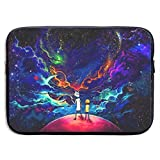 Laptop Sleeve Bag Rick Morty Tablet Briefcase Ultraportable Protective Canvas for 13 Inch MacBook Pro/MacBook Air/Notebook Computer