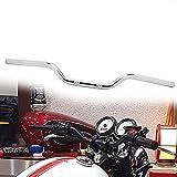 JFG Racing - Manillar de 25 mm (1 pulgada), universal, de estilo europeo, para Harley Sportster XL 883 1200, Dyna, Bobber Custom