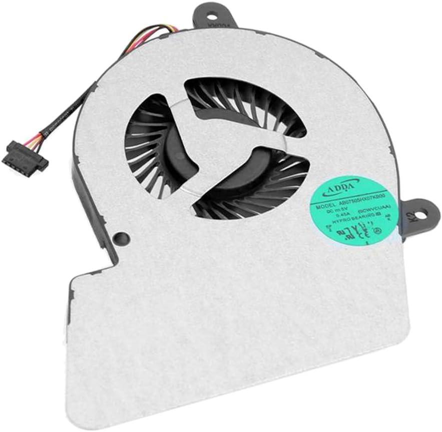 B Blesiya Reemplazo Blanco del Refrigerador De La CPU del Ventilador De Enfriamiento De La CPU 1.8w para Toshiba Satellite