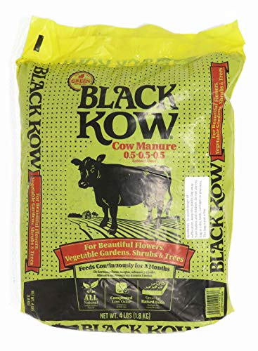 Black Kow Composted Cow Manure 4 lb. Size