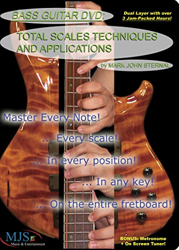 BASS GUITAR DVD Total Scales Techniques and Applications