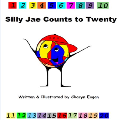 Silly Jae Counts to Twenty audiobook cover art