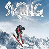 Skiing 2022 Calendar: Beautiful Calendar with Large Grid for Note - To do list, Gorgeous 8.5x8.5   Small Calendar, Non-Glossy Paper