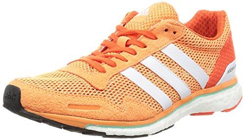 adidas Damen Adizero Adios W Laufschuhe, Mehrfarbig (Easora/ftwwht/energy), 38 EU