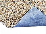 Steinfolie 100cm breit für Teichrand und Bachlauf