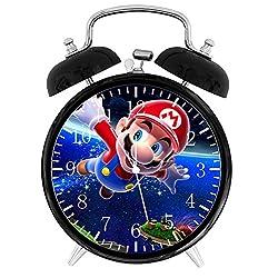 Ikea New Super Mario Alarm Desk Clock 3.75 Room Decor W04 Will Be a Nice Gift