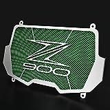 VSKTE Radiator Guard Fit para Kawasaki Z900 2017-2020 Protector de Portada del radiador Z 900 Radiator Grille Guard Fit para Kawasaki Z900 2019 2018 Accesorios (Color : Green)