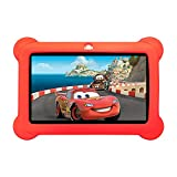 7inch Kids Tablet Google Android 4.4 Quad Core Multi-Touch Screen 4GB Hard Drive Pre-Installed Games and Apps, Google Play Store, Kids Desktop etc (ZeepadKids-Red-4GB)